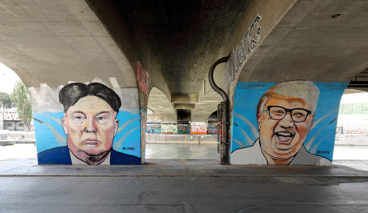 Trump et Kim